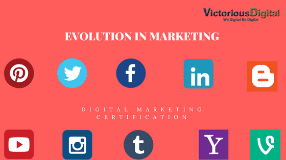 Evolution of Marketing - Victorious Digital